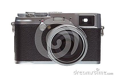 Front Veiw Retro Styled Camera