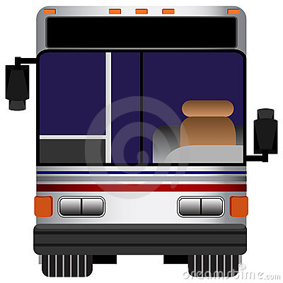 Front View Bus