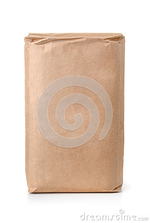 Free Front View Of Blank Brown Paper Bag Royalty Free Stock Photos - 79330638