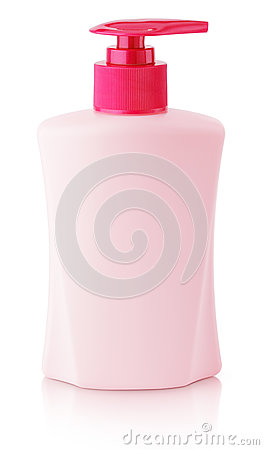 Free Front View Of Gel, Foam Or Liquid Soap Dispenser Pump Pink Plastic Bottle Isolated On White Royalty Free Stock Images - 85767329