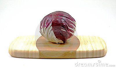 Front view red cabbage