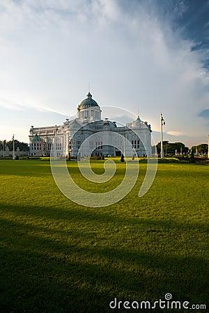 Front Yard Ananta Samakhom Throne Hall