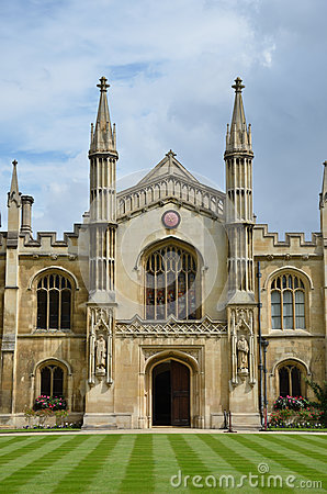 Free Frontage Of Corpus Christie Cambridge Royalty Free Stock Image - 26088116