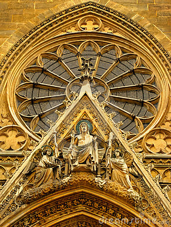 Free Frontage Of The Parisian Sainte Clotilde Basilica Royalty Free Stock Images - 4126449