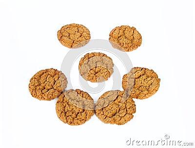 Fronte del biscotto