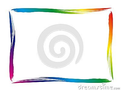 Frontera colorida