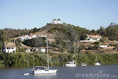 Frontier Between Portugal And Spain, Royalty Free Stock Image - Image: 11230136