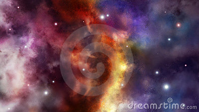 Frontier between two universes