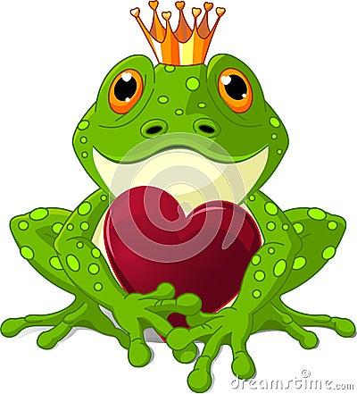 Frosch mit Innerem