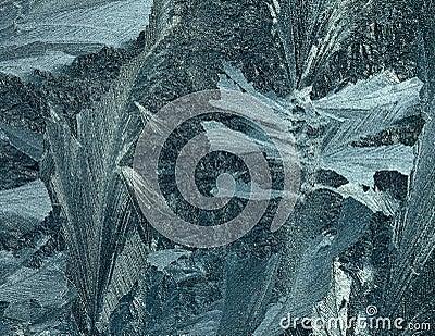 Frost pattern.