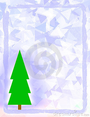 Frosted Christmas Design
