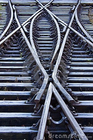 Free Frosted Railway Lines Stock Photos - 17566533