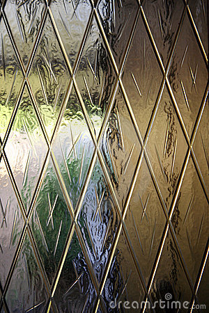 Frosted textured glass