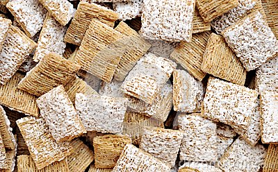 Frosted wheat cereals