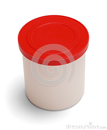Frosting Container Royalty Free Stock Image - Image: 30737996