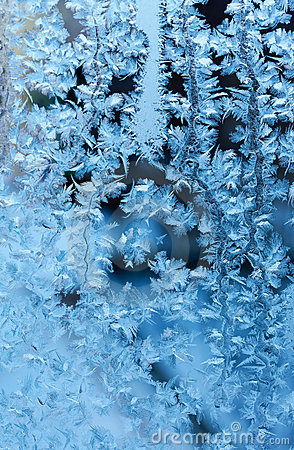 Frosty fine  pattern
