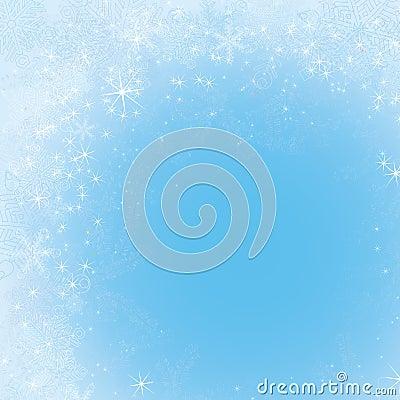 Frosty frame