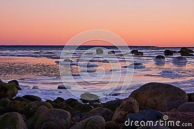 Frosty sea