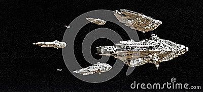 Frota da batalha do espaço