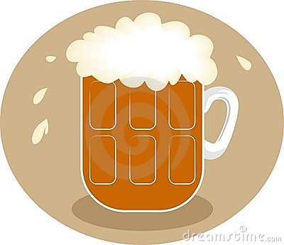 Frothy Beer