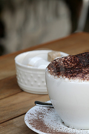 Frothy coffee