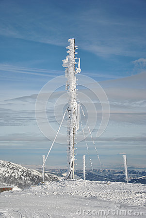 Frozen antenna