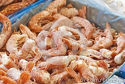 Frozen big shrimps for sale