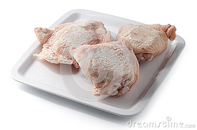 how to cook chicken pieces from frozen