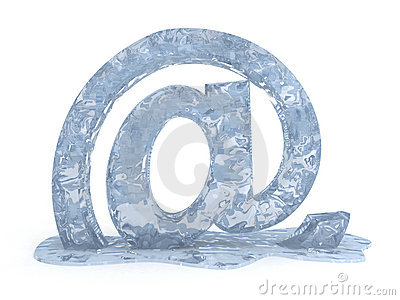 Frozen e mail sign