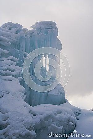 Frozen Falling Water