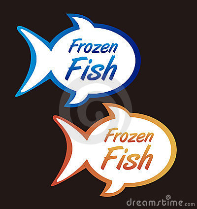 Frozen fish tags