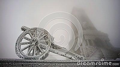 Frozen gun