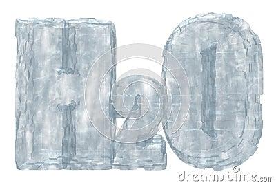 Frozen h2o