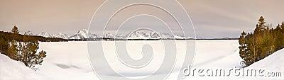 Frozen Lake, Wyoming