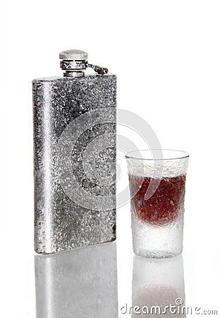 Frozen liquor