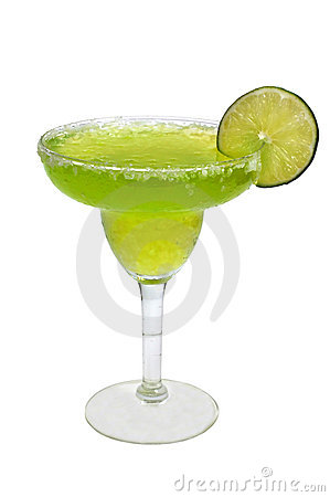 Free Frozen Margarita, Lime, Isolated Royalty Free Stock Image - 9210526