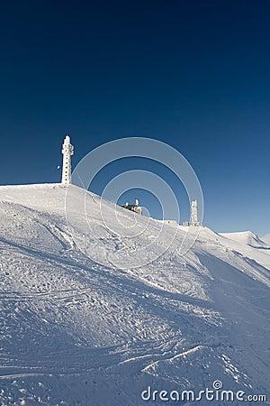 Frozen peaks