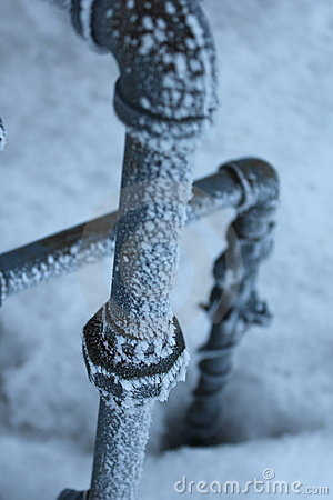 Free Frozen Pipes Stock Image - 18971021