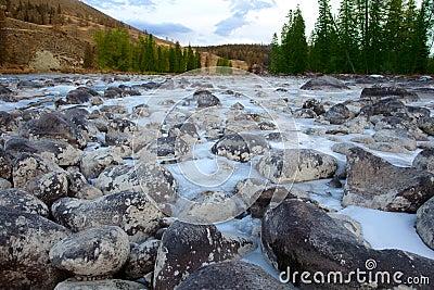 Frozen rive