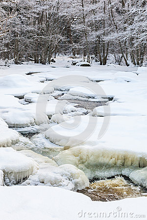 Free Frozen River Stock Photo - 36008340