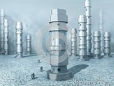 Frozen Robot Land