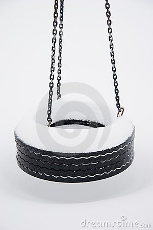 Frozen Tire Swing