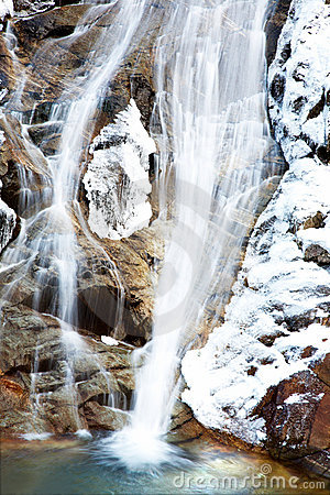 Free Frozen Waterfall Stock Photography - 4695532
