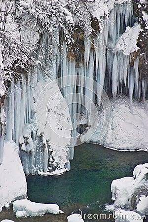 Free Frozen Waterfalls Stock Images - 6539904