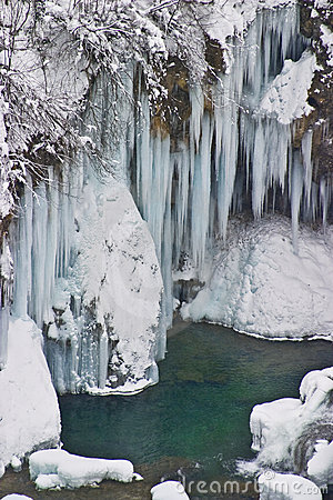 Free Frozen Waterfalls Royalty Free Stock Images - 6549259