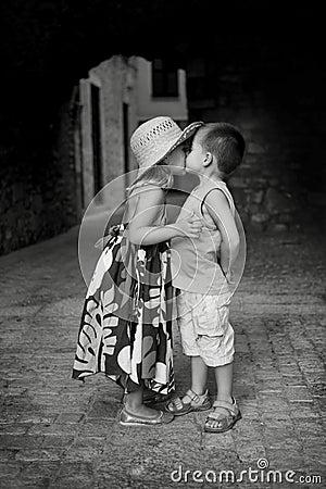 Första kyss