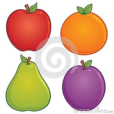 Frucht-Ikonen