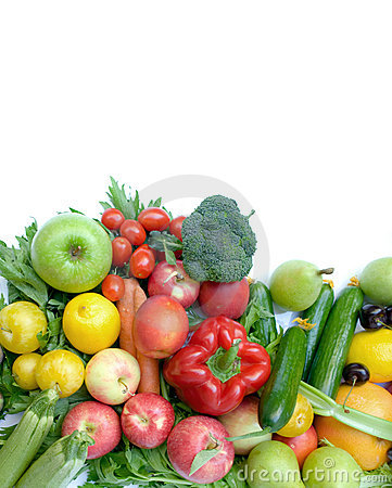 Free Fruit And Vegetable Royalty Free Stock Photos - 21266908