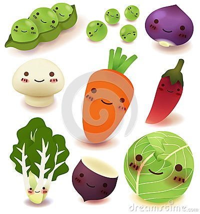 Free Fruit And Vegetable Collection Royalty Free Stock Photo - 30840095