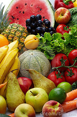 Free Fruit And Vegetables Royalty Free Stock Images - 7134969